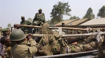 The US call came after clashes between M23 and the Congolese army in Goma near the Rwandan border [Reuters]