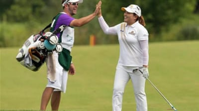 A new star: The South Korean golfer has come from nowhere to dominate LPGA season [AP]