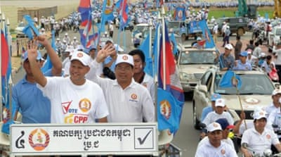 Cambodia's youth begin demanding change
