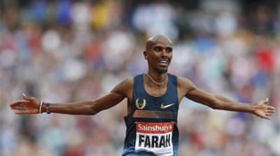 Farah returned to the scene of his Olympic triumph by thrashing rivals in the 3,000m race [Reuters]