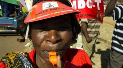 Zimbabwe tightens security before poll