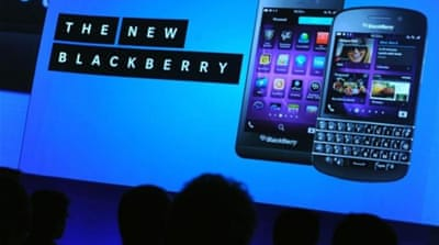 BlackBerry weighs option of a sale
