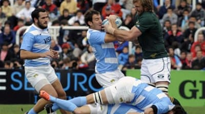 Pumas proved they were up for Rugby Championship challenge with well-earned draw against Springboks [AFP]
