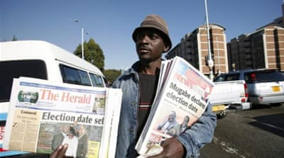 Zimbabwe elections: The press vote