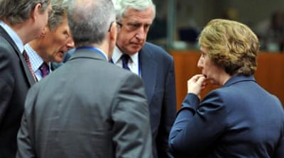 The EU has emerged a key player in Egypt since the army deposed Mohamed Morsi on July 3 [AFP]