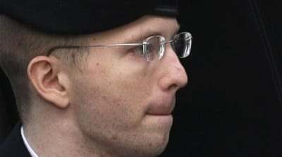Military court sentenced Manning to 35 years in jail for handing secret documents to WikiLeaks [AP]