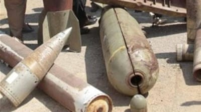 Critics decry US cluster bomb sales to Saudi