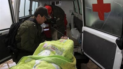 Authorities called on local residents to donate blood to help the wounded [Reuters]