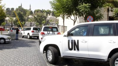 UN team heads to Syria 'chemical attack' site