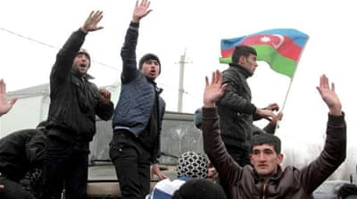 Azerbaijani bloggers critical of the government are increasingly facing jail time [Reuters]
