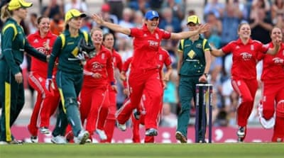 In Pictures: England women regain Ashes