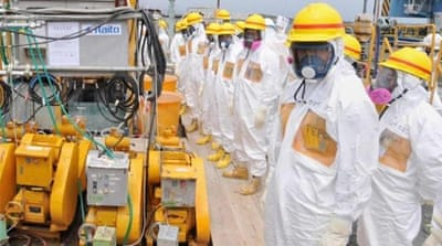 Japan government in Fukushima clean-up