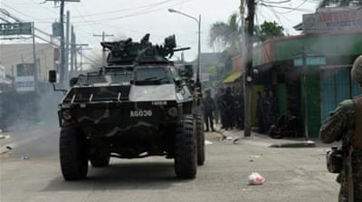 Fighting continues to rage in Philippines
