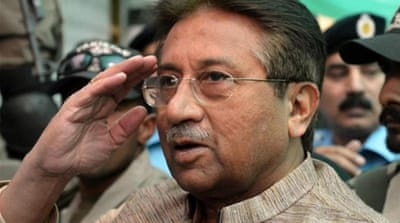 Musharraf already faces murder charges over the deaths of Benazir Bhutto and a Baloch tribal leader [AFP]