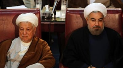 Rouhani's victory brings  Iranians great hope for a rapprochement with the US [AP]