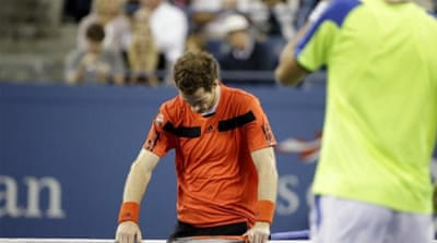 Murray is still on the right route to defending his U.S. title and completing back-to-back major wins [AP]