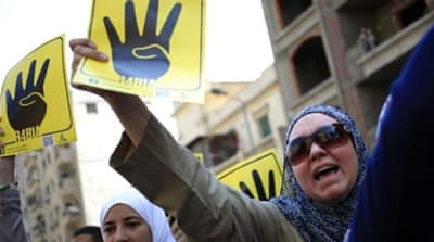 Anti-military protesters rally in Egypt
