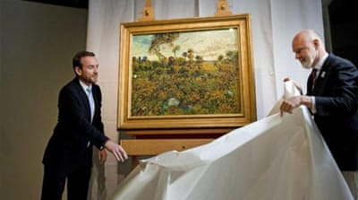 Dutch museum unveils long-lost Van Gogh