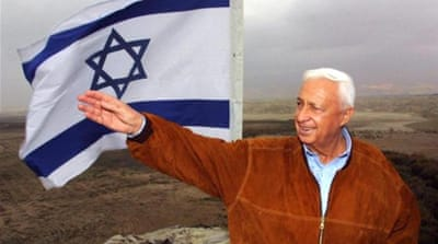 The architecture of Ariel Sharon