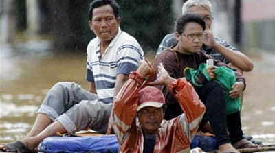 Thousands displaced by Jakarta deadly floods