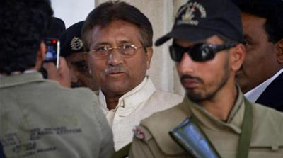 Pervez Musharraf retains his influence with the Pakistani military [AP]