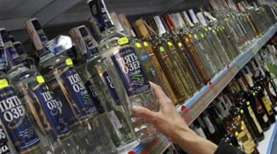 Russian men lose years of life to vodka