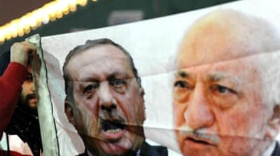 The corruption probe in Turkey is really a power struggle between PM Ergodan and religious leader Fethullah Gulen [AFP]