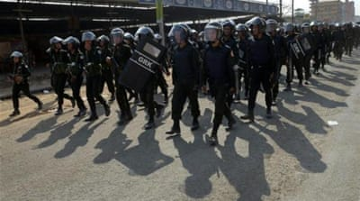 The latest police measures indicate a hardening of the government's response to protests. [Getty Images]