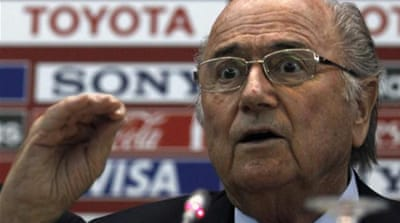Blatter: Brazil behind in World Cup readiness