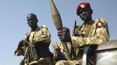 SPLA soldiers, seen here in December before losing control of Bor [Reuters]
