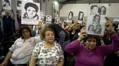 Memorials help families of victims of state repression and human rights activists keep memory of the past alive in Argentina [Reuters]