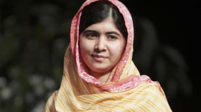 Yousafzai was shot by Taliban fighters in 2012 but miraculously survived [AP]