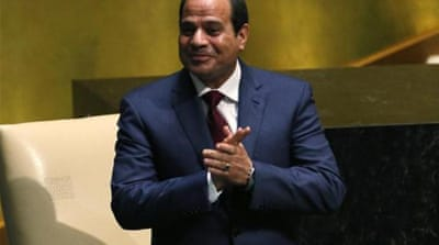 Sisi may be playing his cards right, writes Bell [Reuters]