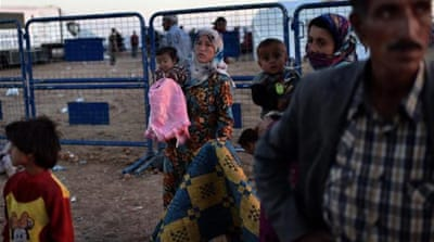 Escaping Kobane: Relief and guilt