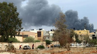 Libya is witnessing its worst spasm of violence since Gaddafi's regime was overthrown, writes West [AFP]