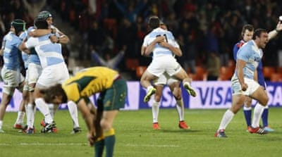 Australia's loss to Argentina in the Rugby Championship further deepened the crisis [Getty Images]