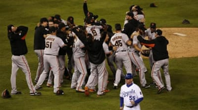 Giants have now won eight World Series titles [EPA]
