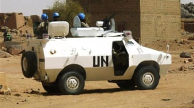 UN peacekeepers have deployed across Mali's north in an effort to secure the country from armed rebels [Reuters]