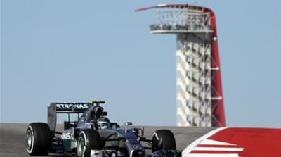 Rosberg still trails leader Hamilton by 17 points [AP]