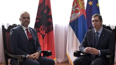 PMs of Albania and Serbia clash over Kosovo