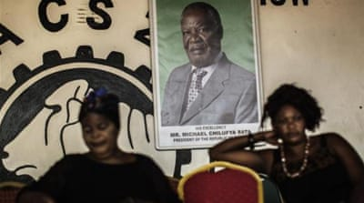 Michael Sata died on October 28 in a London hospital while undergoing treatment for an undisclosed illness [AFP]