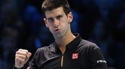 Djokovic is poised to qualify for the semi-finals after his second win [REUTERS]