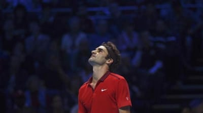 Federer was a six-time champion here at the O2 Arena [AP]