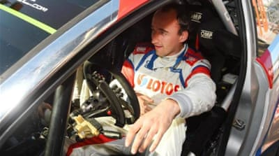 One-handed Kubica hopes for F1 return