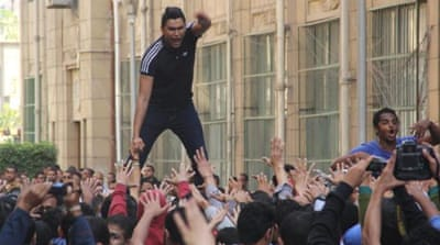 Dozens detained in Egypt as rallies continue