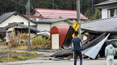 About 200 people, mostly from Hakuba and Otari, were evacuated to shelters [Reuters]