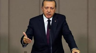 Erdogan says Columbus has no clothes