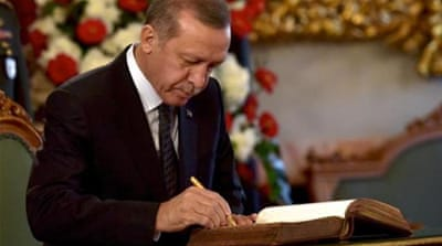 Is Erdogan rewriting history?