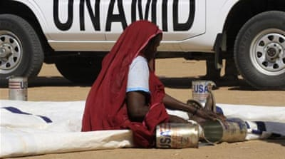 The UN mission was set up in 2007 to protect civilians and secure aid to Darfur [Reuters]
