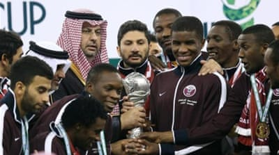 Qatar previously won the Gulf Cup in 1992 and 2004 [AFP]